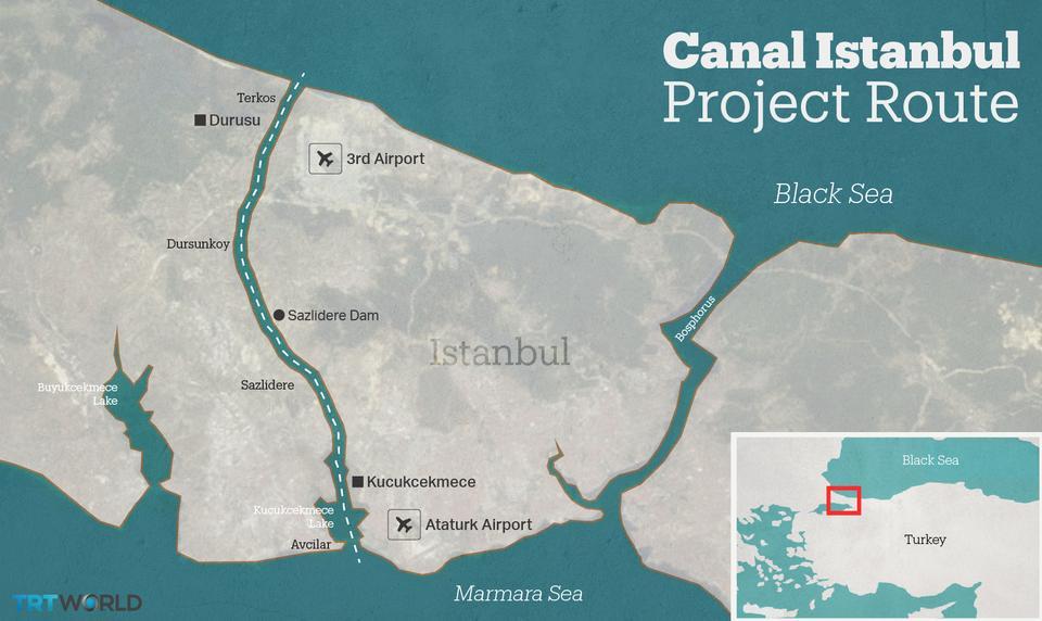 Turcia începe lucrările la controversatul Canal Istanbul - Cargo & Bus