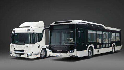 Scania pariază pe vehiculele electrice cu baterii