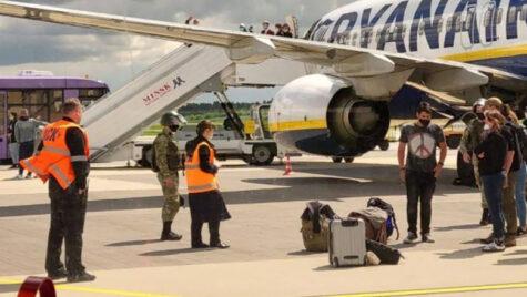 UE va închide spațiul aerian avioanelor din Belarus