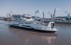 Damen Galați a finalizat construcția unui nou feribot hibrid