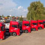 Flotă Ford Trucks F-MAX pentru Est Europa Expediții