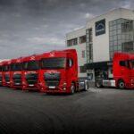 Flotă MAN TGX de nouă generație pentru compania de logistică Sameday