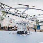Volocopter a prezentat în premieră drona sa cargo